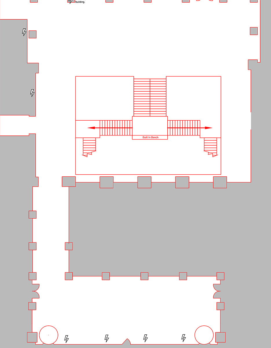 Atrium Level Floorplan